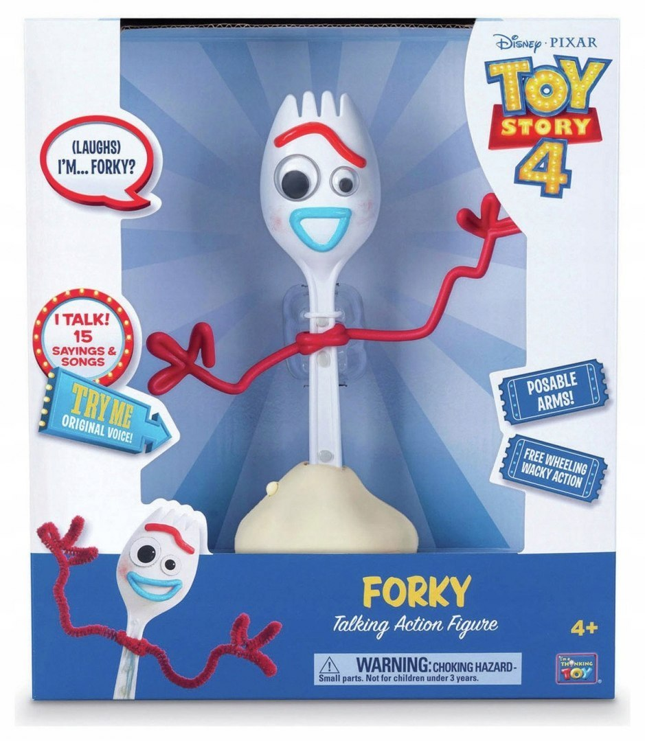 DISNEY TOY STORY 4 12-CALOWY WIDELEC 00